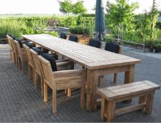 Houten tuintafels in regio Den Bosch