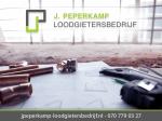 logo van J.Peperkamp Loodgietersbedrijf