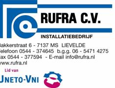 Rufra CV Installatiebedrijf Lievelde