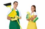 logo van van de weerd schoonmaakbedrijf
