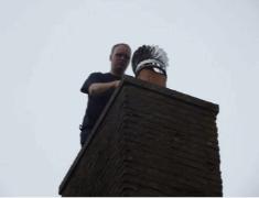 Schoorsteen verstopt in regio Gouda?