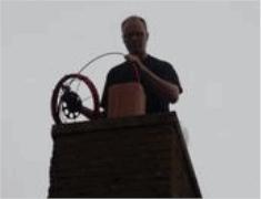 Uw schoorsteen laten vegen voor € 35,- in de regio Gouda!