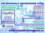 logo van Chem-Dry Eemsmond