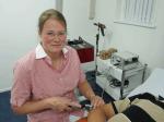 logo van S. Danhof, arts voor acupunctuur en lasertherapie