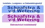 logo van Schaafstra & Van de Wetering