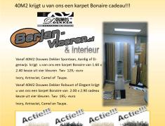 Gratis Karpet Bonaire Vanaf 40M2 Douwes Dekker laminaat