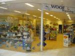 logo van Woof en Miauw Shop